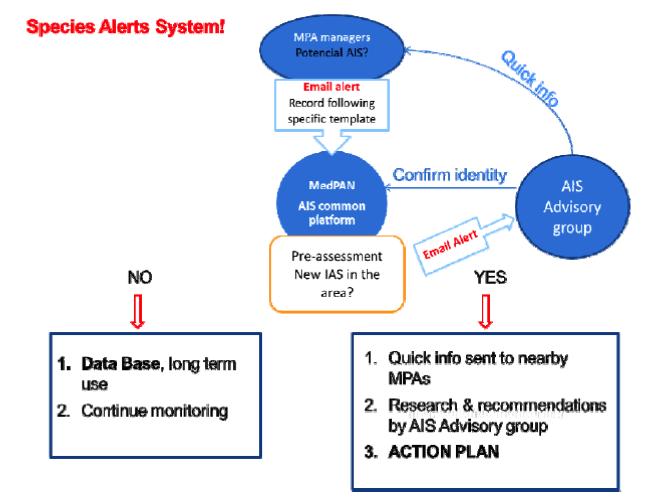 Species alert system