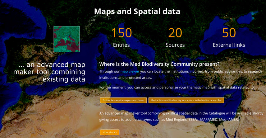 Snapshot of data portal resources