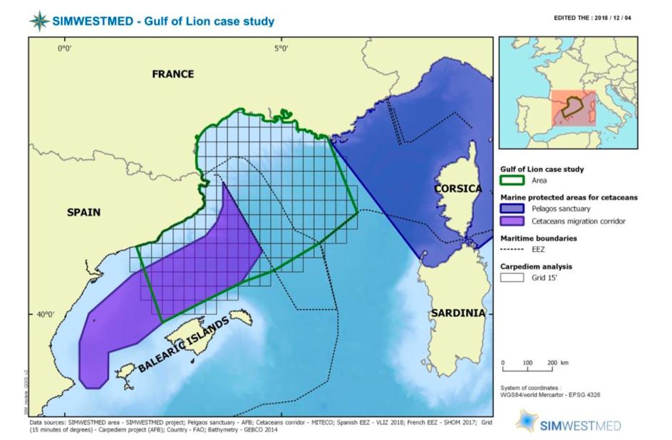 Gulf of Lion study area