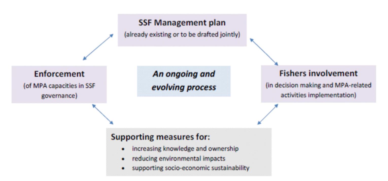 FishMPABlue2 SSF Co-management model