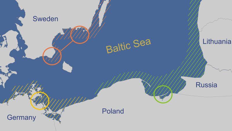 Map of Herring case studies (Source: project website)