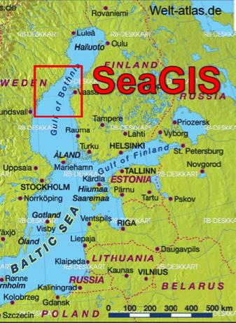 SeaGIS area